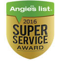 Angie's List Super Service Award - 2013