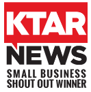 KTAR NEWS Small Business Shout Out Winner - Click here to listen to the interview